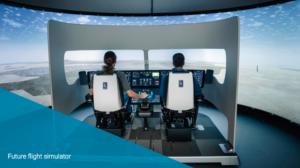Flight simulator at Cranfield University wins international award